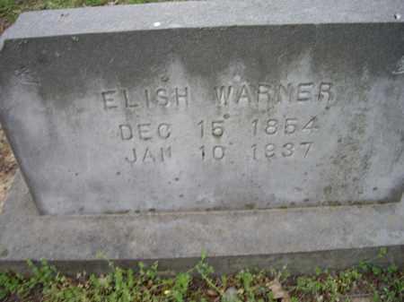 WARNER, ELISH - Lawrence County, Arkansas | ELISH WARNER - Arkansas Gravestone Photos