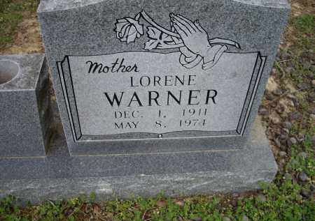 WARNER, LORENE - Lawrence County, Arkansas | LORENE WARNER - Arkansas Gravestone Photos