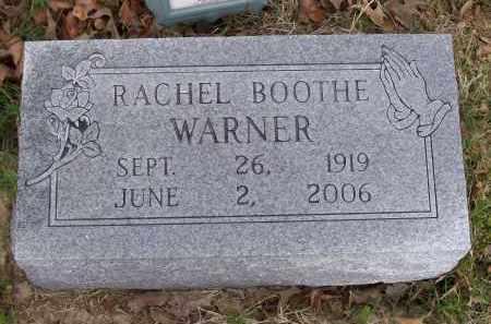 WARNER, RACHEL - Lawrence County, Arkansas | RACHEL WARNER - Arkansas Gravestone Photos