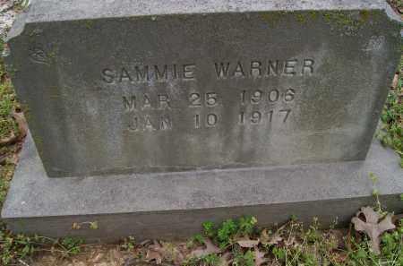 WARNER, SAMMIE - Lawrence County, Arkansas   SAMMIE WARNER - Arkansas Gravestone Photos