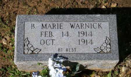 WARNICK, B. MARIE - Lawrence County, Arkansas | B. MARIE WARNICK - Arkansas Gravestone Photos