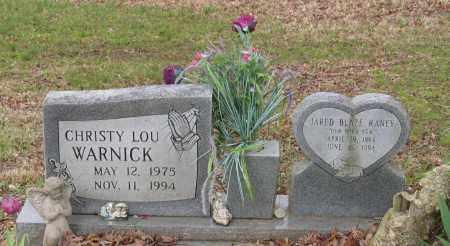 WARNICK, CHRISTY LOU - Lawrence County, Arkansas   CHRISTY LOU WARNICK - Arkansas Gravestone Photos