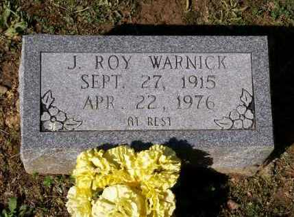 WARNICK, JAMES ROY - Lawrence County, Arkansas   JAMES ROY WARNICK - Arkansas Gravestone Photos