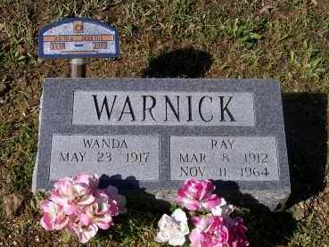 WARNICK, JEWEL RAY - Lawrence County, Arkansas | JEWEL RAY WARNICK - Arkansas Gravestone Photos