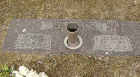 WARNICK, JAMES LOYAL - Lawrence County, Arkansas | JAMES LOYAL WARNICK - Arkansas Gravestone Photos