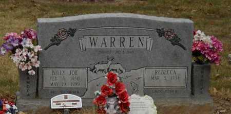 WARREN, BILLY JOE - Lawrence County, Arkansas | BILLY JOE WARREN - Arkansas Gravestone Photos