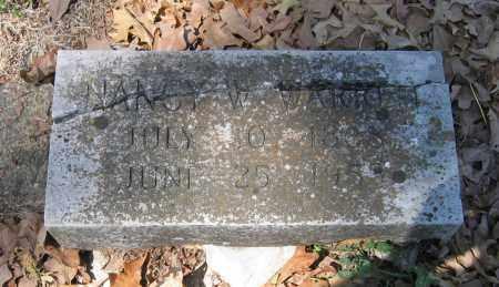 WARREN, NANCY W. - Lawrence County, Arkansas   NANCY W. WARREN - Arkansas Gravestone Photos