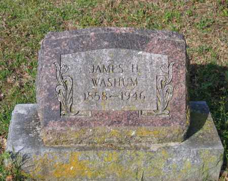 WASHUM, JAMES H. - Lawrence County, Arkansas | JAMES H. WASHUM - Arkansas Gravestone Photos
