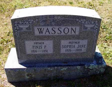 WASSON, FINIS P. - Lawrence County, Arkansas | FINIS P. WASSON - Arkansas Gravestone Photos