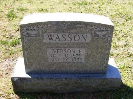 "WASSON, IVERSON FREDRICK ""PETE"" - Lawrence County, Arkansas | IVERSON FREDRICK ""PETE"" WASSON - Arkansas Gravestone Photos"
