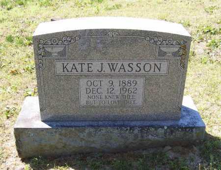 WASSON, KATE J. - Lawrence County, Arkansas | KATE J. WASSON - Arkansas Gravestone Photos