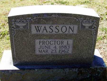 WASSON, PROCTOR LANE - Lawrence County, Arkansas   PROCTOR LANE WASSON - Arkansas Gravestone Photos