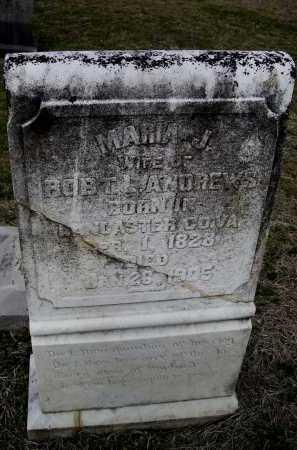 ANDREWS, MARIA J. MARSHALL WATKINS - Lawrence County, Arkansas | MARIA J. MARSHALL WATKINS ANDREWS - Arkansas Gravestone Photos