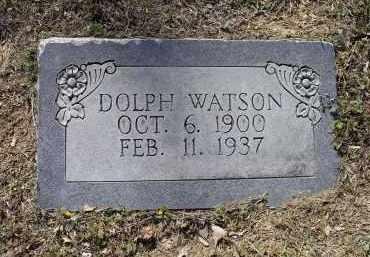 WATSON, DOLPH O. - Lawrence County, Arkansas | DOLPH O. WATSON - Arkansas Gravestone Photos