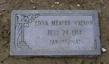 MEALER, EDNA - Lawrence County, Arkansas | EDNA MEALER - Arkansas Gravestone Photos