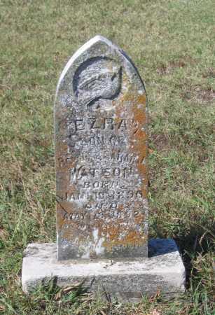 WATSON, EZRA - Lawrence County, Arkansas | EZRA WATSON - Arkansas Gravestone Photos