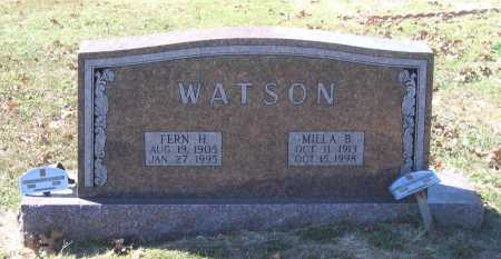 CLINTON WARD, MILLA BITHA - Lawrence County, Arkansas   MILLA BITHA CLINTON WARD - Arkansas Gravestone Photos