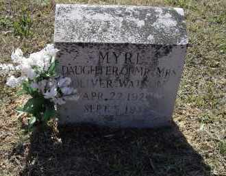 WATSON, LUCY MYRL - Lawrence County, Arkansas | LUCY MYRL WATSON - Arkansas Gravestone Photos