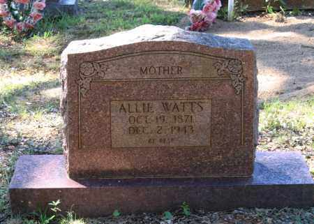 WATTS, ALLIE - Lawrence County, Arkansas | ALLIE WATTS - Arkansas Gravestone Photos