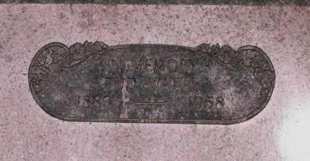 "WATTS, BENONIA ""BUD"" - Lawrence County, Arkansas | BENONIA ""BUD"" WATTS - Arkansas Gravestone Photos"