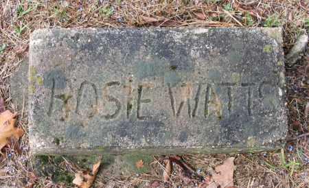 WATTS, HOSIE - Lawrence County, Arkansas   HOSIE WATTS - Arkansas Gravestone Photos