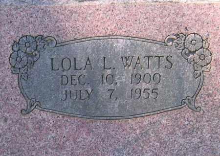 WATTS, LOLA L. HOLDER - Lawrence County, Arkansas   LOLA L. HOLDER WATTS - Arkansas Gravestone Photos