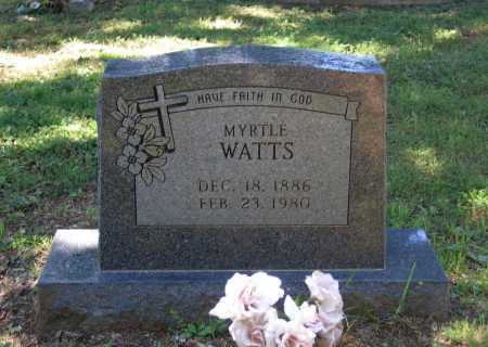 "WATTS, WILLIE MYRTLE ""MERT"" - Lawrence County, Arkansas 