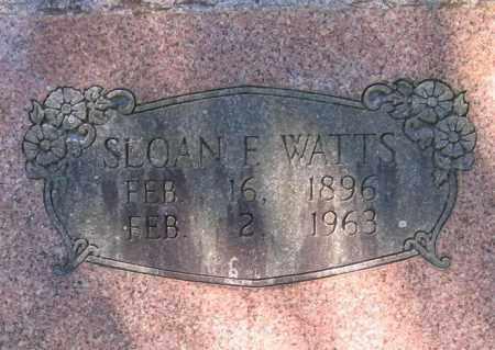 WATTS, SLOAN FERGUSON - Lawrence County, Arkansas | SLOAN FERGUSON WATTS - Arkansas Gravestone Photos