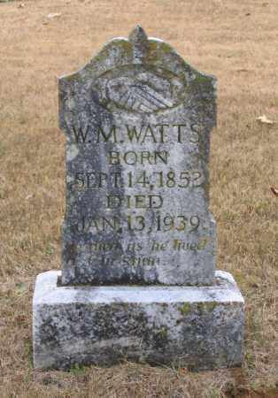 "WATTS, WILLIAM M. ""W. M."" - Lawrence County, Arkansas 