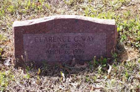 WAY (VETERAN WWI), CLARENCE C. - Lawrence County, Arkansas | CLARENCE C. WAY (VETERAN WWI) - Arkansas Gravestone Photos