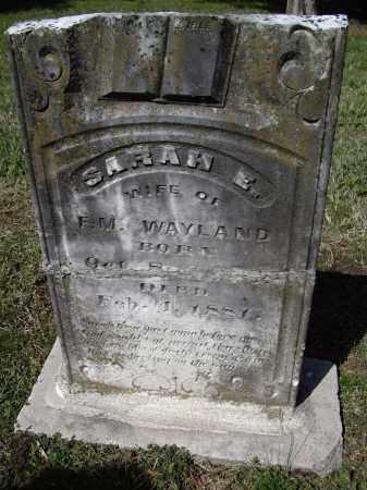 MATTHEWS WAYLAND, SARAH ELIZABETH - Lawrence County, Arkansas   SARAH ELIZABETH MATTHEWS WAYLAND - Arkansas Gravestone Photos