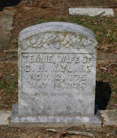 """CLEMENTS WAYLAND, TENNESSEE """"TENNIE"""" - Lawrence County, Arkansas 