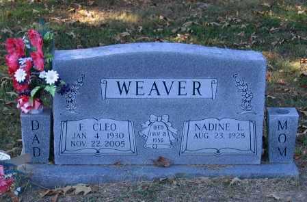 WEAVER, FRED CLEO - Lawrence County, Arkansas | FRED CLEO WEAVER - Arkansas Gravestone Photos
