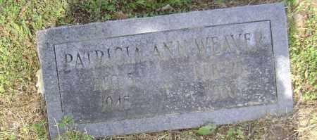 WEAVER, PATRICIA - Lawrence County, Arkansas   PATRICIA WEAVER - Arkansas Gravestone Photos