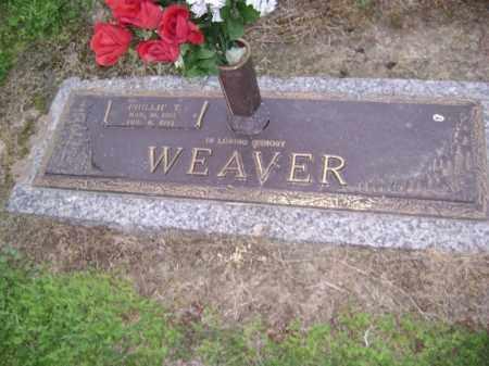 WEAVER, PHILLIP T. - Lawrence County, Arkansas   PHILLIP T. WEAVER - Arkansas Gravestone Photos