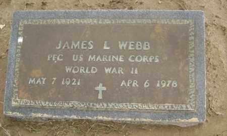 WEBB  (VETERAN WWII), JAMES LOWELL - Lawrence County, Arkansas | JAMES LOWELL WEBB  (VETERAN WWII) - Arkansas Gravestone Photos