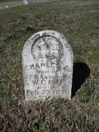 WEBB, CHARLES G. - Lawrence County, Arkansas | CHARLES G. WEBB - Arkansas Gravestone Photos