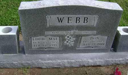 MCINTIRE WEBB, EDDIE MAE - Lawrence County, Arkansas   EDDIE MAE MCINTIRE WEBB - Arkansas Gravestone Photos