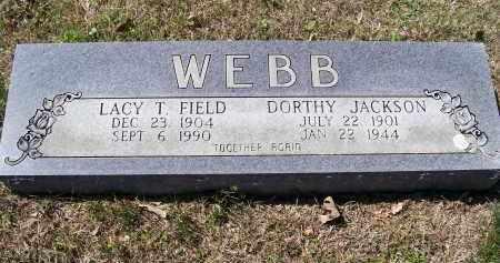 FIELD WEBB, LACY THEOLA - Lawrence County, Arkansas | LACY THEOLA FIELD WEBB - Arkansas Gravestone Photos