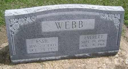 WEBB, EVERETT - Lawrence County, Arkansas | EVERETT WEBB - Arkansas Gravestone Photos