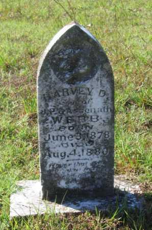 WEBB, HARVEY D. - Lawrence County, Arkansas | HARVEY D. WEBB - Arkansas Gravestone Photos