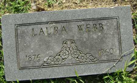 WEBB, LAURA - Lawrence County, Arkansas | LAURA WEBB - Arkansas Gravestone Photos