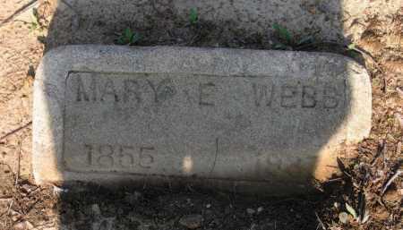 WEBB, MARY E. - Lawrence County, Arkansas | MARY E. WEBB - Arkansas Gravestone Photos