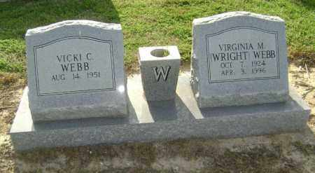WRIGHT, VIRGINIA M. - Lawrence County, Arkansas | VIRGINIA M. WRIGHT - Arkansas Gravestone Photos