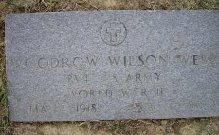 WEBB (VETERAN WWII), WOODROW WILSON - Lawrence County, Arkansas   WOODROW WILSON WEBB (VETERAN WWII) - Arkansas Gravestone Photos