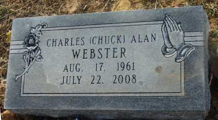 """WEBSTER, CHARLES ALAN """"CHUCK"""" - Lawrence County, Arkansas   CHARLES ALAN """"CHUCK"""" WEBSTER - Arkansas Gravestone Photos"""