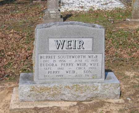 PERRY WEIR, EUDORA - Lawrence County, Arkansas | EUDORA PERRY WEIR - Arkansas Gravestone Photos