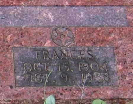 WEIR, FRANCES - Lawrence County, Arkansas | FRANCES WEIR - Arkansas Gravestone Photos