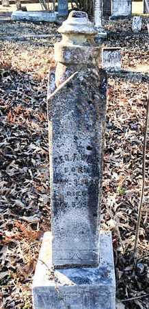 WEIR (VETERAN CSA), GEORGE F. - Lawrence County, Arkansas   GEORGE F. WEIR (VETERAN CSA) - Arkansas Gravestone Photos
