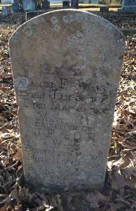 WEIR, MATTIE M. - Lawrence County, Arkansas | MATTIE M. WEIR - Arkansas Gravestone Photos